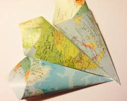 Map Favors by World Map Favors Etsy