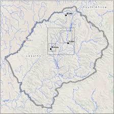 Lesotho Map Lesotho Earthshots Satellite Images Of Environmental Change