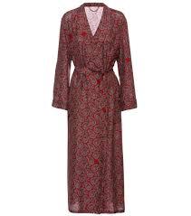 robe de chambre en soie femme burberry robe de chambre en soie imprimée multicolore femme