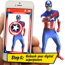 Captain Halloween Costume Deluxe Captain America Morphsuit Morph Costumes Uk