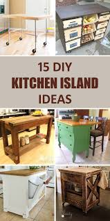 diy kitchen islands ideas 15 awesome diy kitchen island ideas
