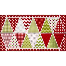 riley blake holiday banner panel christmas multi discount