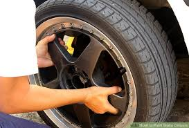 how to paint brake calipers with pictures wikihow