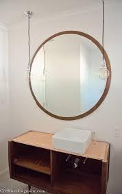 mid century mirror elegant mid century modern bathroom cre8tive designs inc inside