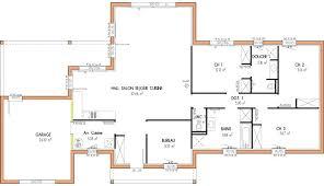 plan maison 4 chambres etage plan maison 4 chambres plan maison moderne d chambres with plan