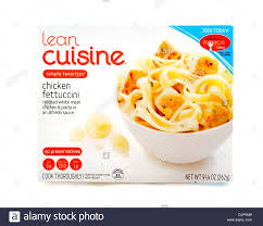 lea cuisine lean cuisine chicken fettucini low calorie frozen ready meal usa