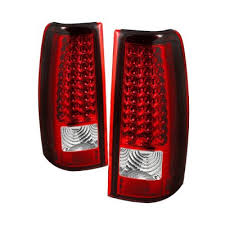 2004 silverado tail lights gmc sierra 2003 2006 red and clear led tail lights a103t0fe109