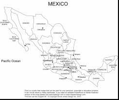 Mexican Map Coloring Page Pages Mexican Flag Archives Best Mexican Mexican