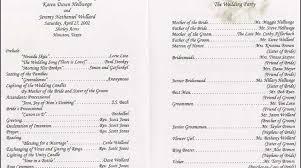 wedding programs wording nowadays wedding program wording simple diy wedding 35071