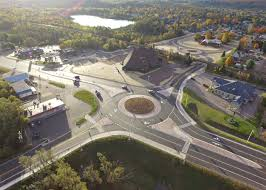 Peninsula Overhead Doors by Roundabouts Built As Part Of 4m Project In Small Upper Peninsula