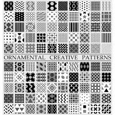 creative pattern photography black and white creative patterns vector free download
