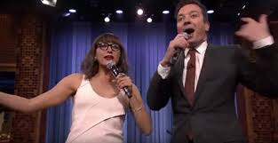 rashida jones and jimmy fallon sing songs