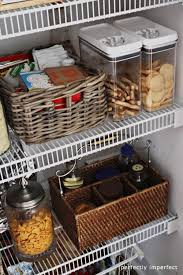 How To Organize Your Kitchen Pantry - how to organize your pantry perfectly imperfect blog