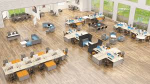 open concept office floor plans open workspaces vs closed private office spaces