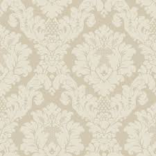 Kitchen Wallpaper by Arthouse Wallpaper Opera Da Vinci Damask Cream 405101 Textured