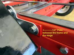 Filet Remorque Feu Vert by Harbor Freight 4 U0027 X 8 U0027 Folding Trailer Mods Finally Done