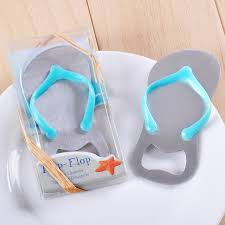 wedding presents creative flip flops shape bottle opener return presents
