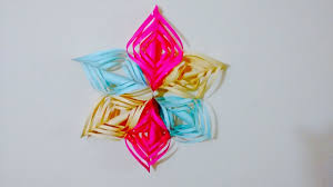 Origami Home Decor by Diy Paper Flower For Drawing Room Decor Home Decoration Paper