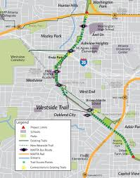 Atlanta Streetcar Map by The Atlanta Beltline Will The Westside Trail Match The Eastside