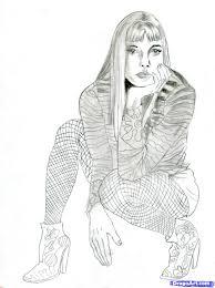 how to draw a hippie hippie step by step fashion pop