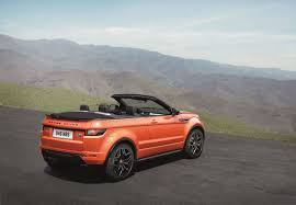land rover convertible interior range rover u0027s evoque convertible lets the elements come to you