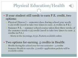 online health class for high school credit th grade typical schedule granville high school ppt