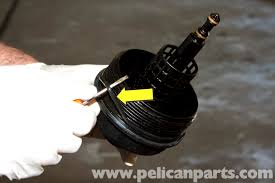 bmw e60 5 series oil change 2003 2010 pelican parts technical