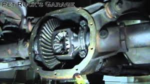 how to change ford 7 5 u0026 8 8 differential fluid ford mustang