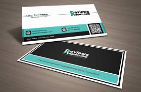black u0026 white business card with qr code template download