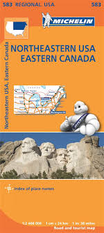 map of ne usa and canada map of east usa eastern canada michelin maps guides