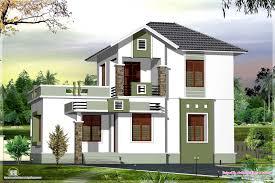 100 two floor house plans in kerala western house designs