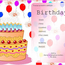 sample birthday invites birthday invitation card maker hello kitty invitations templates