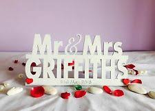 mr and mrs sign for wedding personalised mr and mrs sign wedding top table decoration