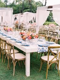 A Big Island Hawaii Wedding All About Color Linen Rentals Floral