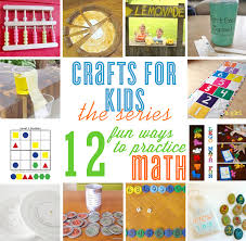 crafts for kids 12 math practice ideas u2022 the celebration shoppe