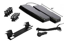 led equipped light bar hunter interior visor linear led lightbar starting at 239 95 by www