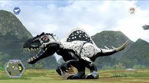 tutorial lego jurassic world ps3 lego jurassic world customize create dinosaur indominus rex