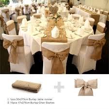 burlap chair sash rustic theme wedding banquet home decoration burlap chair sashes