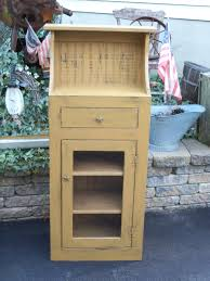 Primitive Corner Cabinet Furniture Pie Safes U0026 Jelly Cabinets