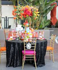 sequin table runner wholesale factory directly wholesale 10pcs wedding decorative black glitter