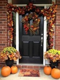 Enchanting Thanksgiving Outside Decorations  About Remodel Home - Outside home decor ideas