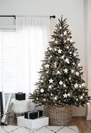 silver and gold christmas tree theme christmas lights decoration