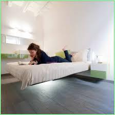 having magnetic floating beds