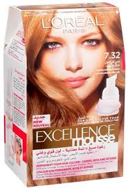 light caramel brown hair color l oreal excellence mouse 7 32 very light caramel brown price from