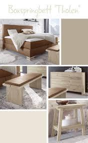 Schlafzimmer Bett Mit Matratze Rustikales Boxspringbett Mit Derben Stahlmanschetten An Den