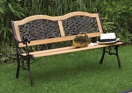 Wood And Metal Patio Furniture - garden variety outdoor bench plans outdoor chairs big lots patio