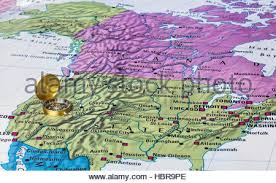 map of usa with compass map usa and canada stock photos map usa and canada stock images
