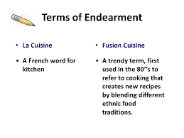 word for cuisine all in the family objective describe how emotions cultures
