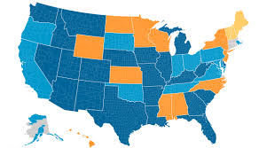 States With No Income Tax Map by Doing More With Less State Revenue Limitations And Mandates On