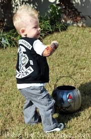 sons of anarchy toddler halloween costume